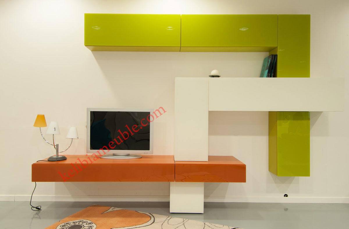 meuble tv moderne napoli 1. Black Bedroom Furniture Sets. Home Design Ideas