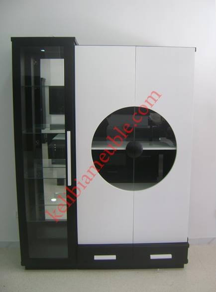 argenti re moderne noir et blanc marwa. Black Bedroom Furniture Sets. Home Design Ideas
