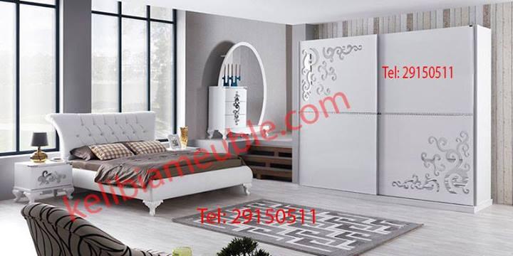 Chambre à coucher moderne complète \