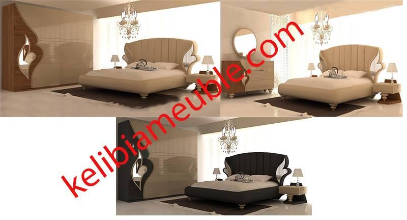 Chambre à coucher moderne Diana