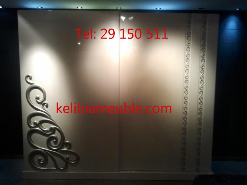 Vente chambre coucher classique night mido meubles for Meuble classique tunisie