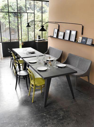 quelques id es pour relooker la salle manger. Black Bedroom Furniture Sets. Home Design Ideas