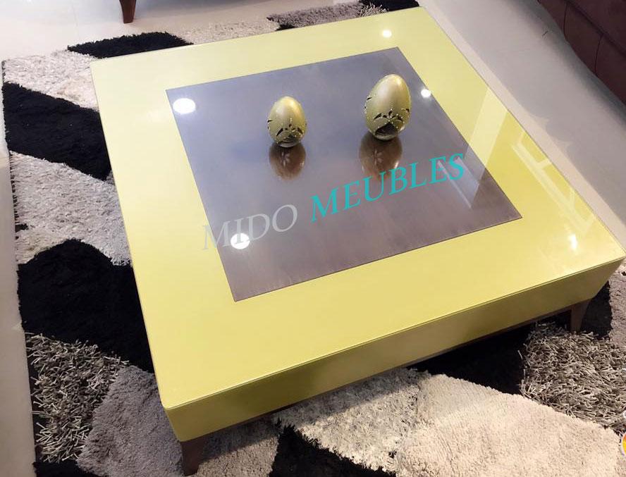 table basse kenza chez mido meubles kelibia