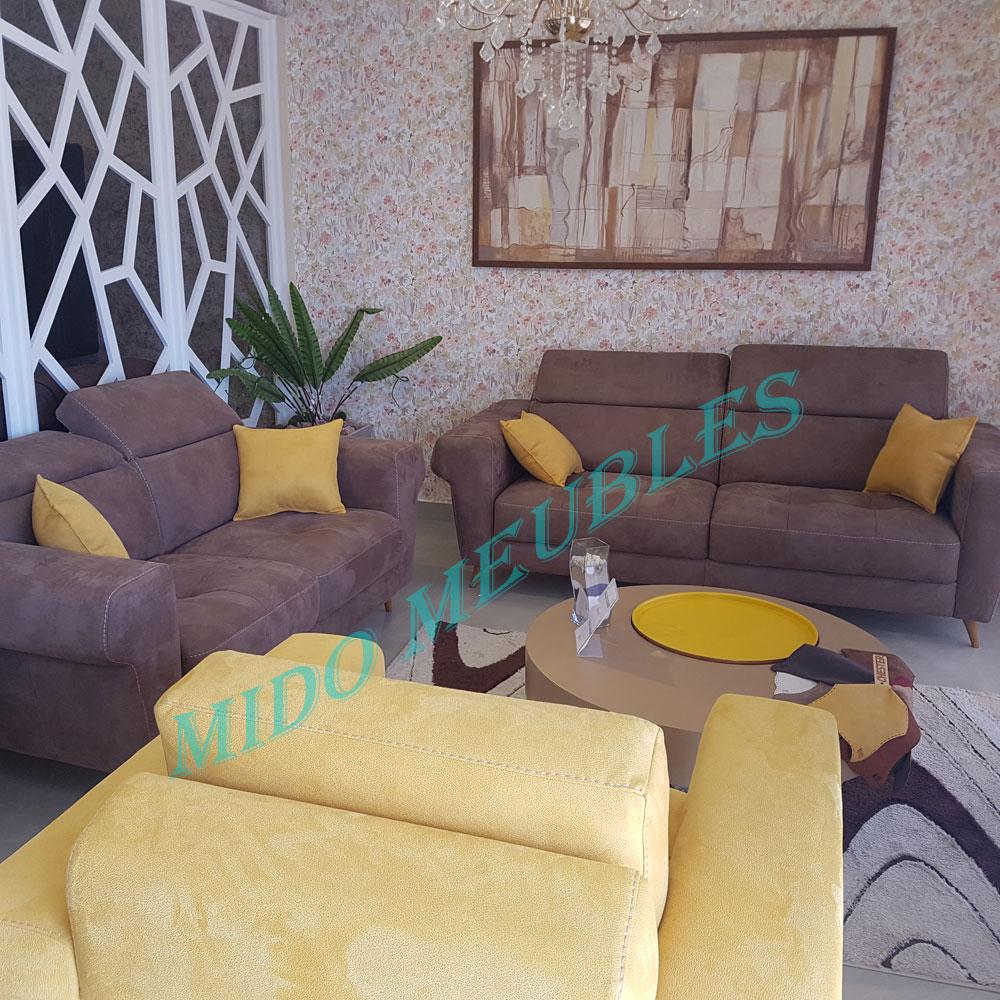 vente salon moderne golden mido meubles kelibia tunisie