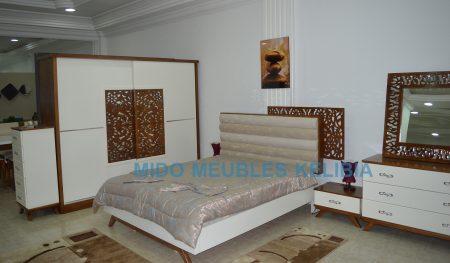 chambre à coucher moderne chez mido meubles kelibia