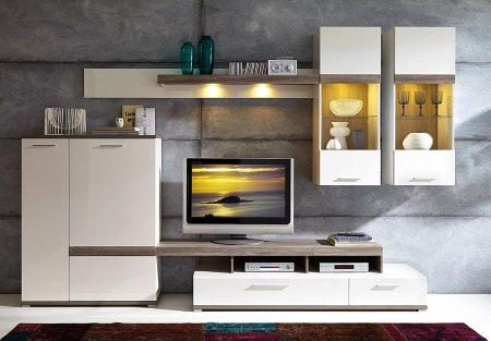 ensemble tv design moderne