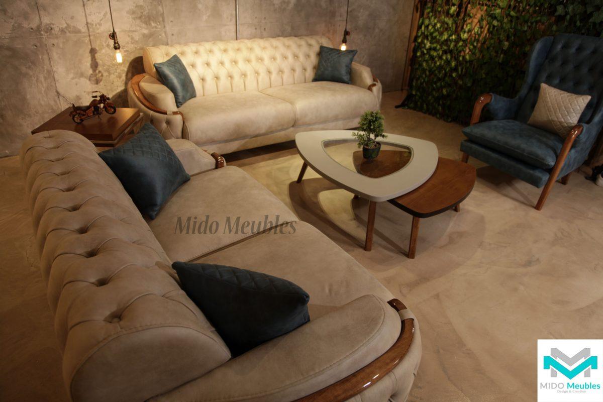 Salon Tunisie: canapés et fauteuils